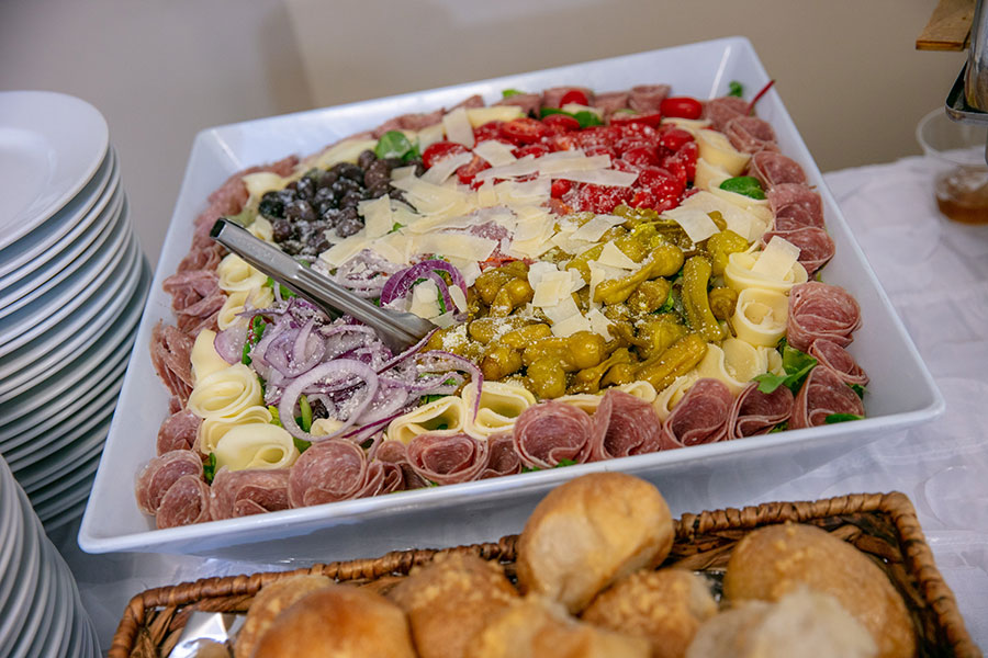 cold buffet event catering